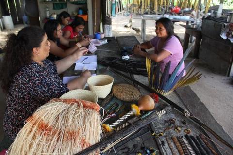 Em trabalho inédito, Fundação Cultural inicia visita em todas as aldeias indígenas de Vilhena para registro fotográfico da Arte e Cultura de povos locais