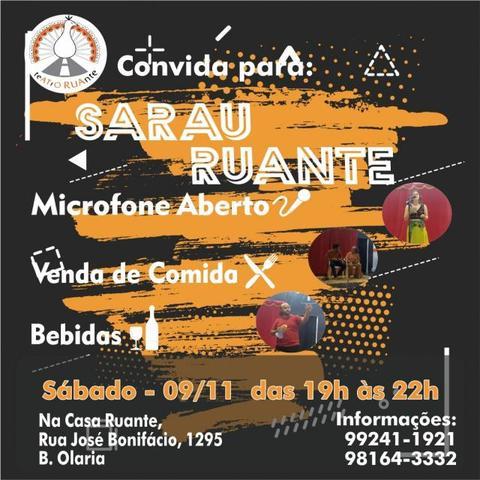 Concurso Samba de Quadra  da escola Acadêmicos da Zona Leste + Casa Ruante realiza Sarau no próximo sábado + Lenha na Fogueira - Gente de Opinião