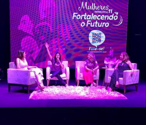 Cristiane Lopes participa de Encontro Mulheres Progressistas - Fortalecendo o Futuro