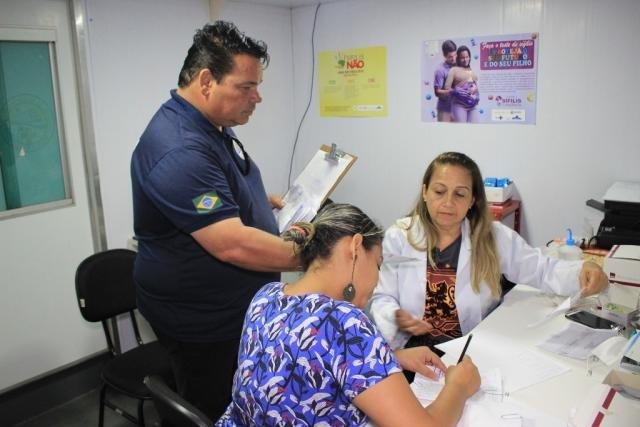 Giovani Guastala coordena os trabalhos na unidade fluvial - Gente de Opinião