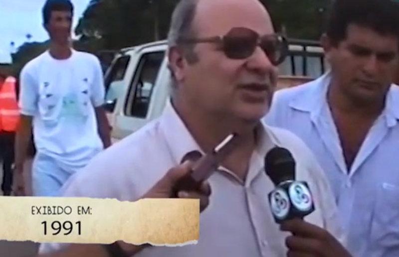 Sic Retrô - Jerônimo visita Ariquemes em 1991 e fala da tentativa do PT de lhe tirar do governo