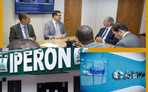 Ministro Paulo Guedes e os casos da Caerd e Iperon + Lula defendendo os ladrões de celulares +Operação Draco tem mais denúncias