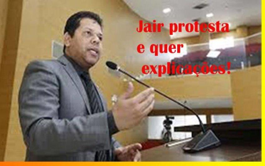 """Jair Montes protesta: """"é acusação seletiva + A CPI da Energisa vai a Brasília + No Orgulho, medo e infelicidade"""