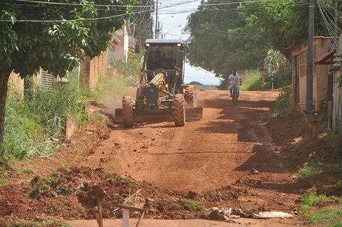 Prefeitura Porto Velho inicia asfaltamento de ruas no bairro Conceição