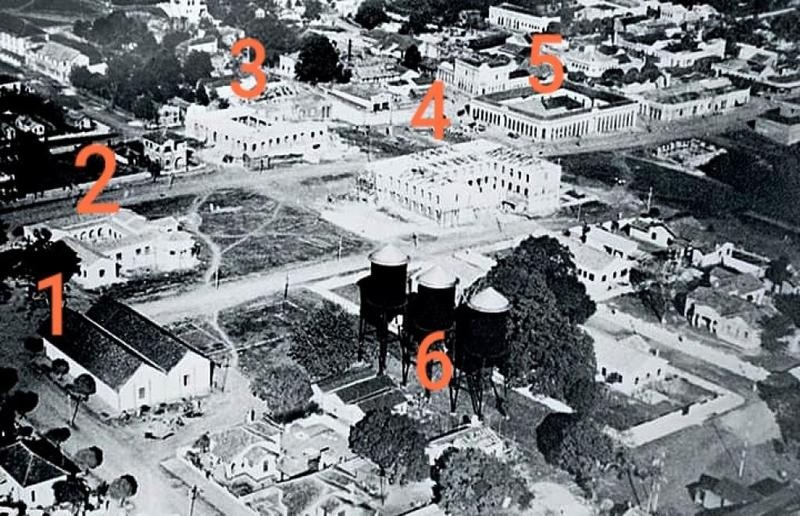 Porto Velho no início da década de 50