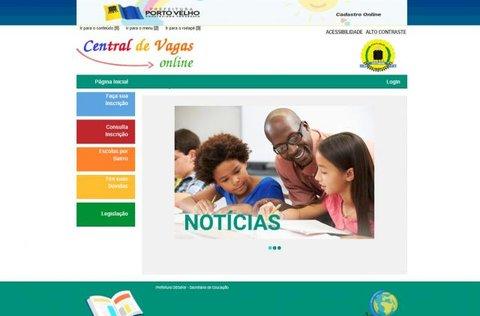 Porto Velho - Sistema de Chamada Escolar Online volta a funcionar normalmente