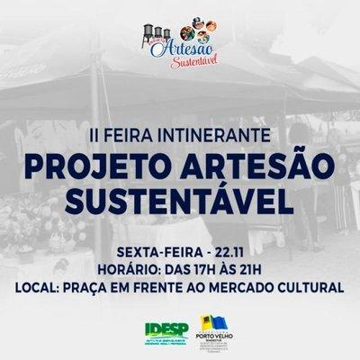 Prefeitura realiza 2ª Feira Itinerante do projeto Artesão Sustentável