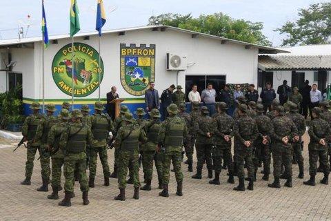 Rondônia ativa Batalhão de Polícia de Fronteira e combate avanço da criminalidade no país