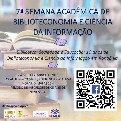 UNIR realiza semana acadêmica comemorativa dos 10 anos do curso de Biblioteconomia e Ciência da Informação  - Gente de Opinião