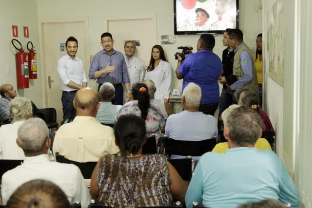 Secretário Fernando Máximo, governador Marcos Rocha, médico Renato Veloso e médica Karina Veloso - Gente de Opinião