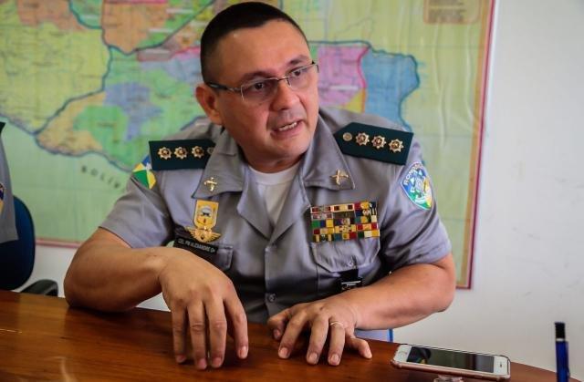 Coronel Alexandre explica a importância do reforço no policiamento - Gente de Opinião