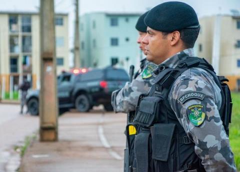 Forças integradas da segurança pública realizam operação no Residencial Orgulho do Madeira