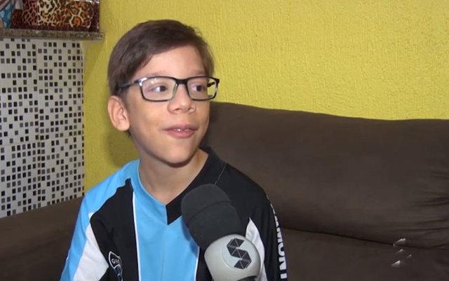 Guilhermo, o garoto autista, que sonha em ser Youtuber famoso - Gente de Opinião