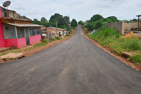 Moradores elogiam asfaltamento de ruas feito pela Prefeitura de Porto Velho