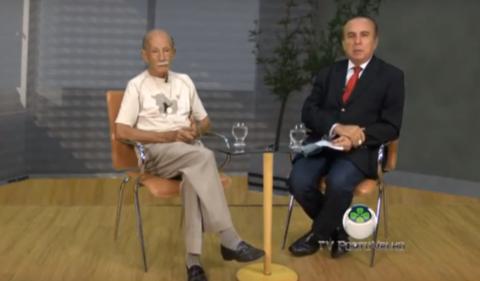 O programa Sala de Opinião com o saudoso Euro Tourinho