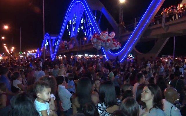 O fim de semana foi marcado pela abertura do Natal Porto de Luz - Gente de Opinião