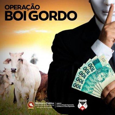 """Ministério Público de Rondônia deflagra Operação """"BOI GORDO"""""""