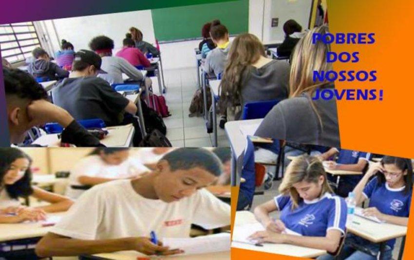 """A educação que envergonha nosso país  + Rocha e Laerte: parceria inédita + """"Saneamento"""" da bandidagem"""