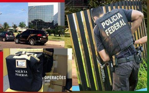 Operação da PF: nenhum deputado afastado, nenhum servidor da presidência envolvido