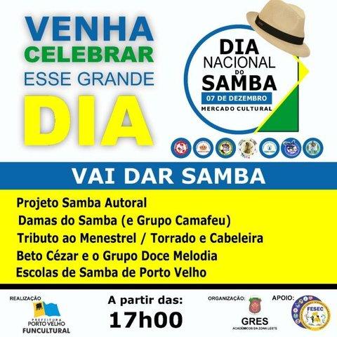Festa para o Dia Nacional do Samba + Abertura do Natal de Luz + Lenha na Fogueira - Gente de Opinião