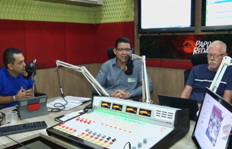 Marcos Rocha e Laerte Gomes na Rádio Parecis falam do clima de harmonia entre os poderes