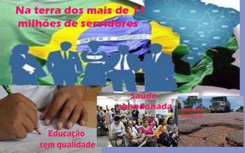 o ineficiente serviço público brasileiro + Acidente caseiro: governador teve sorte + Empresa paulista no transporte coletivo