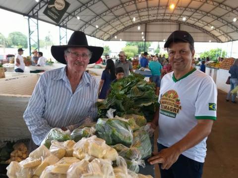 Agricultores e agroindústrias comemoram vendas na 1ª Feira do Produtor de Vilhena