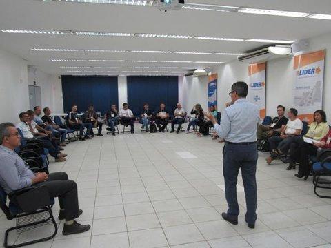 Momentos de articulação e negociação são analisados no quarto encontro do LIDER no Território Central