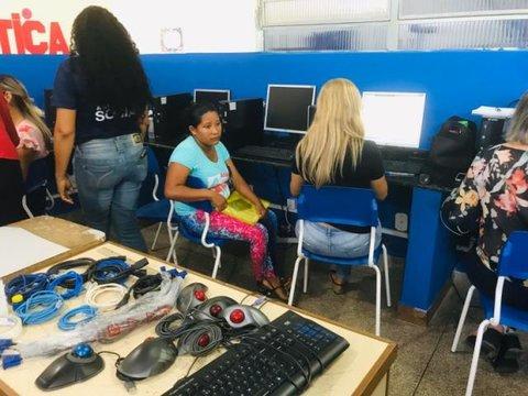 Porto Velho - Crianças e adolescentes venezuelanos são matriculadas na rede municipal de ensino