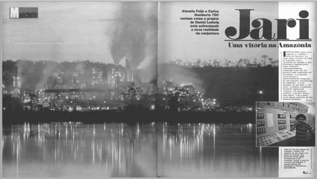 Projeto Jari (Manchete, n° 1.516) - Gente de Opinião