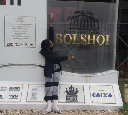 Balé Bolshoi - Rondoniense Afro-Indígena arruma as malas para estudar em Joinville