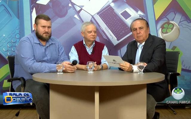 Dr. Aparício Carvalho conversa com os professores de engenharias da Faculdade Metropolitana - Gente de Opinião