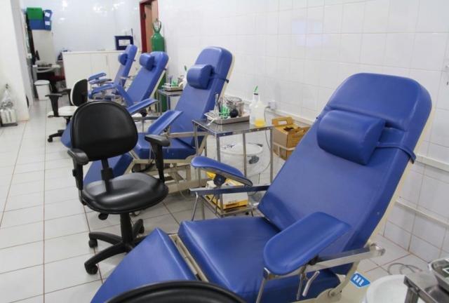Cadeiras vazias refletem a atual situação do estoque de sangue na Fhemeron - Gente de Opinião