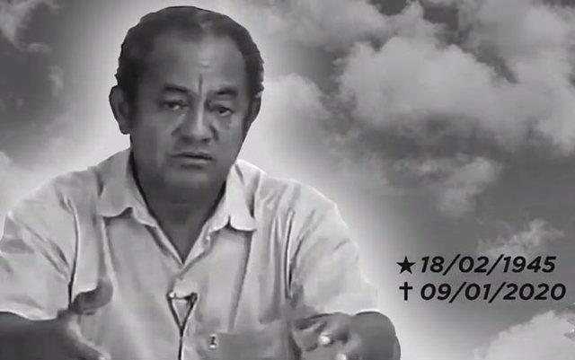 Professor e comentarista esportivo Miguel Silva é homenageado durante sepultamento - Gente de Opinião