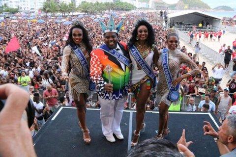 Lenha na Fogueira + Carnaval no Rio de Janeiro começou domingo