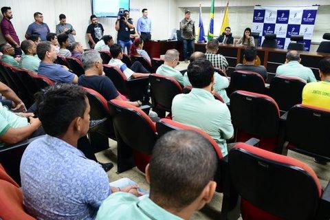 Audiência de conciliação busca solucionar crise no transporte coletivo de Porto Velho