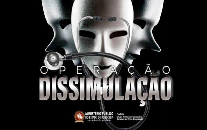 OPERAÇÃO DISSIMULAÇÃO – MPRO, com apoio da Polícia Civil, deflagra operação contra esquema de restituição indevida de gastos com saúde a deputado