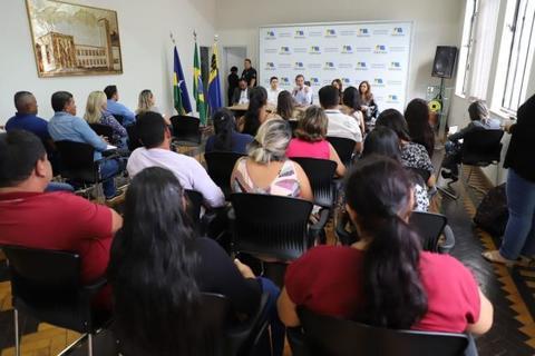 Diretores das Unidades Básicas apresentam conquistas e demandas ao prefeito Hildon Chaves