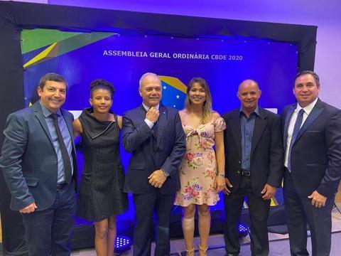 Rondônia se fortalece na administração nacional da Confederação Brasileira do Desporto Escolar