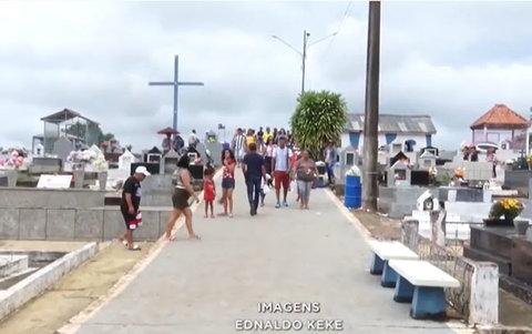 Moradores cobram mais cuidado com a manutenção do cemitério de Santo Antônio