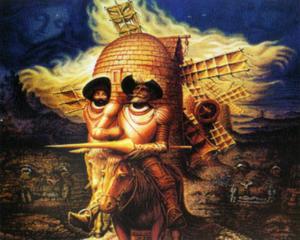 Com a cara de Dom Quixote de la Mancha - Gente de Opinião