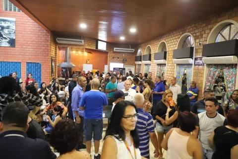 Hildon Chaves reabre Mercado Cultural em comemoração aos 105 anos de Instalação da Capital