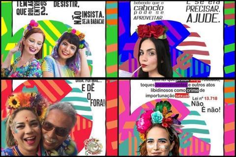 Carnaval 2020: Bloco Pirarucu do Madeira lança campanha contra assédio no carnaval